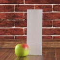Фасовочный крафт-пакет 9x25x6, белый, крафт